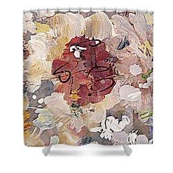 Winter Bouquet Shower Curtain