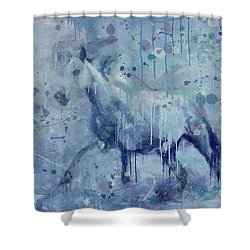 Winter Flurry Shower Curtain