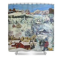 Winter Goose - Sold Shower Curtain