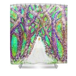Winter Shower Curtain by Hidden Mountain