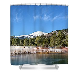 Winter In Ruidoso Shower Curtain