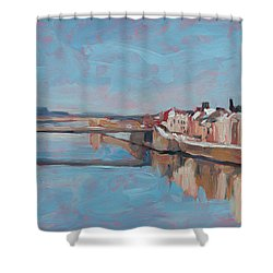 Winter In Wyck Maastricht Shower Curtain