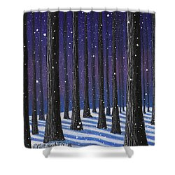Winter Is Coming 01 Shower Curtain
