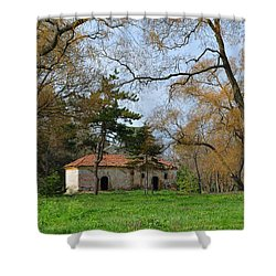 Winter Is Gone Shower Curtain