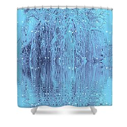 Winter Is Pretty Shower Curtain