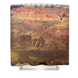 Winter Light In Grand Canyon Shower Curtain