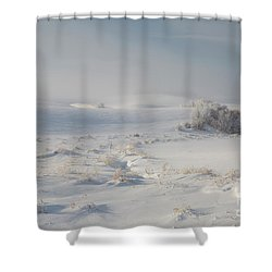 Winter Light On The Palouse Shower Curtain