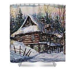 Winter Magic II  Shower Curtain