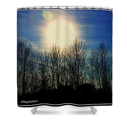 Winter Morning Shower Curtain by MaryLee Parker