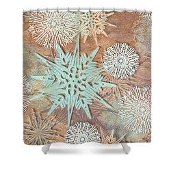 Winter Nostalgia Shower Curtain by AugenWerk Susann Serfezi