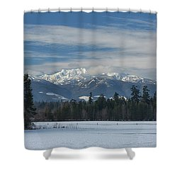 Shower Curtain featuring the photograph Winter by Randy Hall