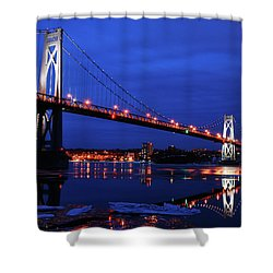 Winter Refelctions Shower Curtain