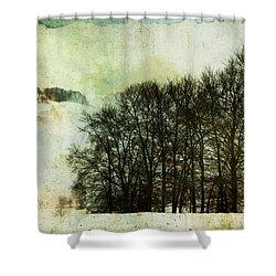 Winter Remembrances Shower Curtain
