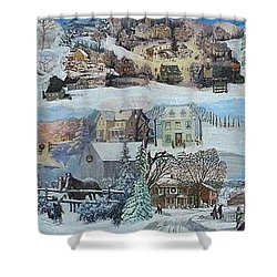 Winter Repose - Sold Shower Curtain