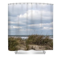 Shower Curtain featuring the photograph Winter Sky by Gregg Southard