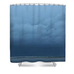 Shower Curtain featuring the photograph Winter Sky by Jeanette French