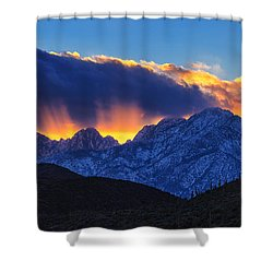 Sudden Splendor Shower Curtain by Rick Furmanek