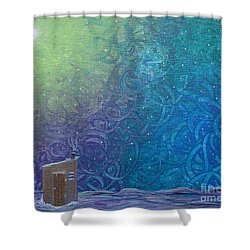 Winter Solitude 2 Shower Curtain