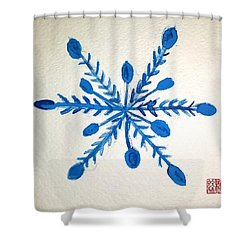 Winter Solstice Shower Curtain