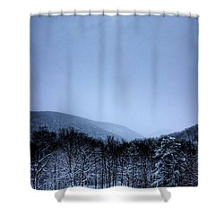 Winter Sun Shower Curtain by Jonny D