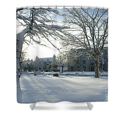 Winter -  Tomintoul Shower Curtain