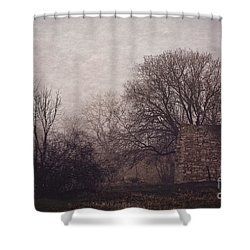 Winter Without Snow Shower Curtain