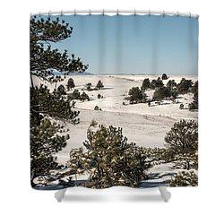 Winter Wonder Land Shower Curtain
