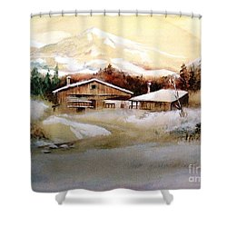 Winter Wonderland  Shower Curtain