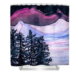 Winter Wonderland Shower Curtain by Heather  Hiland