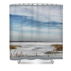 Winter Wonderland Shower Curtain by Tamera James