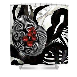 Winterberries Shower Curtain