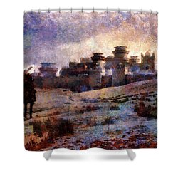Winterfell Shower Curtain by Lilia D