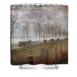 Winters Edge Shower Curtain