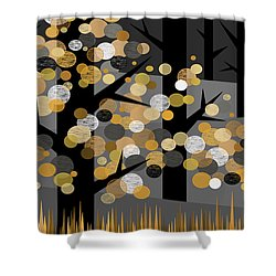 Winters Edge Shower Curtain