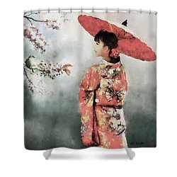 Winter's End Shower Curtain