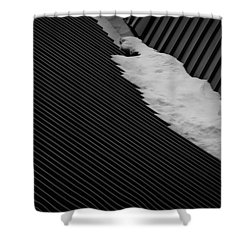 Winters End Shower Curtain by Tim Nichols