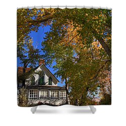 Winters Ranch Shower Curtain by Donna Kennedy