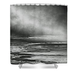 Winter's Song Shower Curtain by Steven Huszar