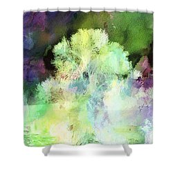 Winters Storm Shower Curtain