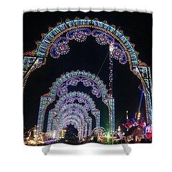 Christmas Winterwonderland Shower Curtain