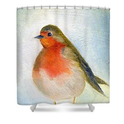 Wintry Shower Curtain