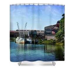 Winyah Bay Georgetown Sc Shower Curtain