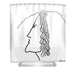 Wire Shower Curtain