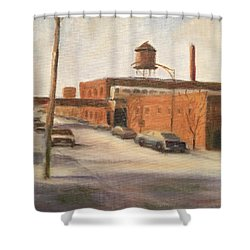 Wired And Ready Shower Curtain