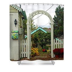 Wires In Paradise Shower Curtain