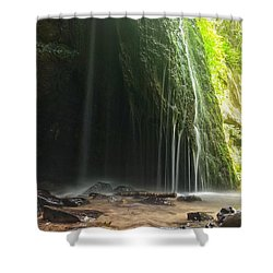 Shower Curtain featuring the photograph Wisconsin Waterfall by Nikki McInnes