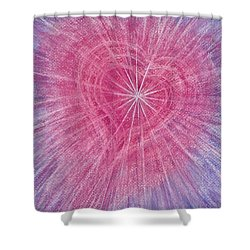 Wisdom Of The Heart Shower Curtain
