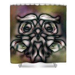 Wise Man Shower Curtain