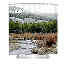 Wise River Montana Shower Curtain