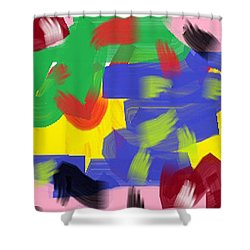 Wish - 10 Shower Curtain